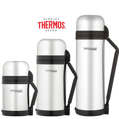 Thermos ThermoCafe Multipurpose Food Drink Soup Bullet Flask Stainless Steel Vac