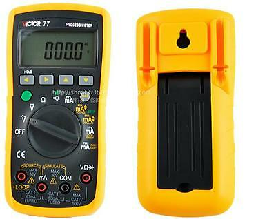 Process Calibrator meter Output 0-20mA Simulate Transmitter Loop 24V Multimeter