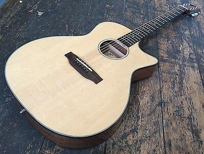 Kala KA-GTR-SMTS-E Thinline Acoustic Electric Guitar