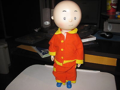 "Caillou 12"" Poseable Vinyl Doll Irwin Cinar Character"
