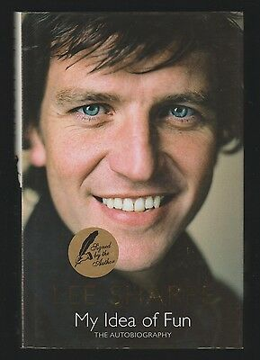 Lee Sharpe Manchester United Hardback Book My Idea Of Fun Original Hand Signed