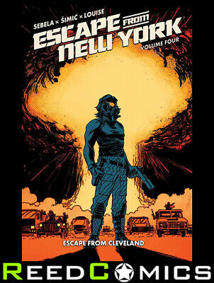 ESCAPE FROM NEW YORK VOLUME 4 GRAPHIC NOVEL New Paperback Collects Issues #13-16