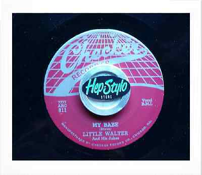 Little Walter Re 45-My Babe/roller Coaster- Fantastic Classic 50S Checker R&b