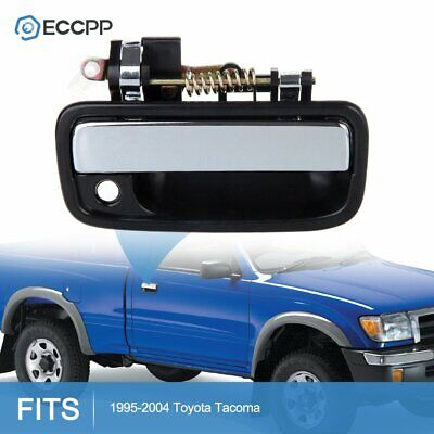 1Pc Door Handle for 95-04 Toyota Tacoma Black Exterior Front Right Side