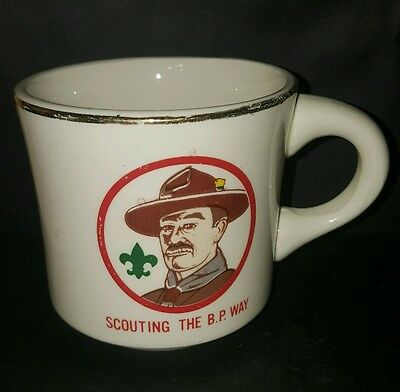 Vtg BSA Scouting the B.P. Way Boy Scout Coffee Cup