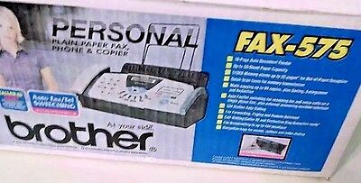 Genuine brother Personal 575 Plain-Paper Fax * Great for small business/home
