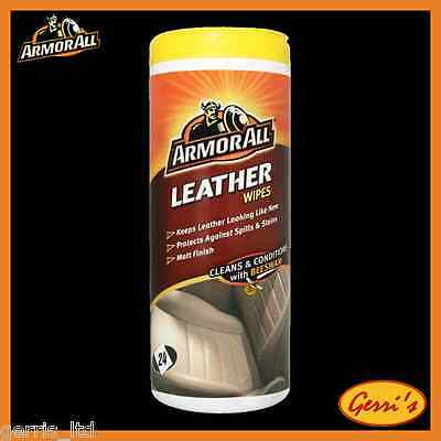 Armor All Leather Wipes 24 Wipes 39024EN