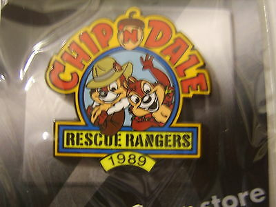 DISNEY 100 YEARS OF DREAMS PIN - CHIP'n DALE'S RESCUE RANGERS 1989 PIN #66