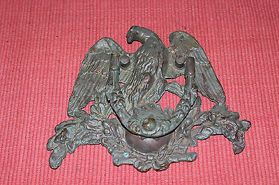 Antique Bronze Brass Metal American Eagle Door Knocker-Large Size-Single Star