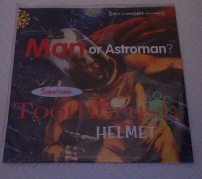 "Man Or Astroman - Supersonic Toothbrush Helmet (7""ep) Raro"