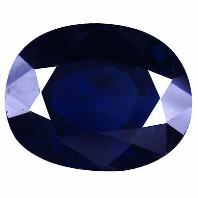 1.60 Ct Awesome Natural Australian  Blue Sapphire Oval Cut Loose Gemstones