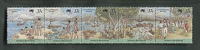 Cocos (Keeling) Islands 1988 Bicent of Settlement.Arrival of the First Fleet MNH