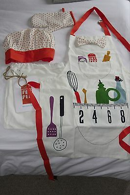 Jamie Oliver Jamie at Home Mini Chef's Outfit - lovely present