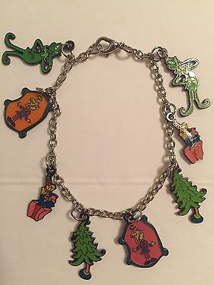 HOW THE GRINCH CHARM BRACELET AND MATCHING NECKLACE New DR SEUSS FREE SHIPPING!