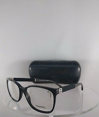 Brand New Authentic Chanel Eyeglasses 3262 Color 1443 Marbled Black Frame