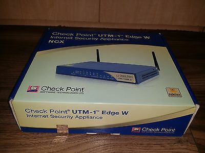 Check Point UTM-1 Edge W with Firewall SBXW-166LHGE-6