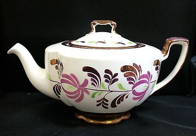 Gray's Pottery Lustre Hand Painted Tea Pot