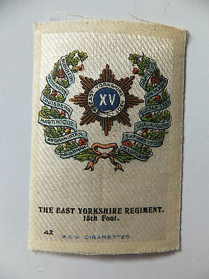 The East Yorkshire Regiment, 15th Foot, BDV silk, WW1