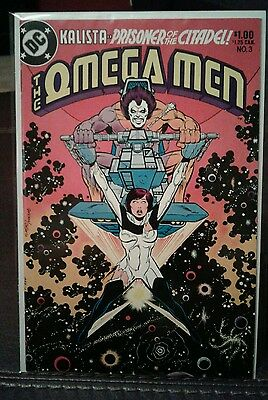 Omega Men #3 - 1st First Lobo - NM