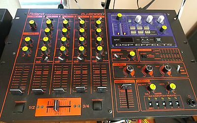 Roland DJ-2000 Mixer-Made In Japan-3 Band EQ's-MIDI Sync Out-Effects-Isolator