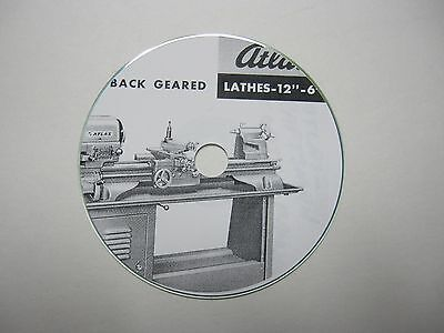 Atlas Craftsman Lathe Manual
