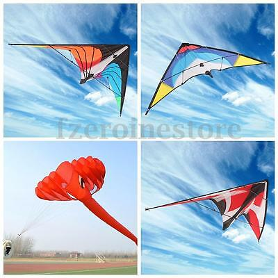 NEW Stunt Kite Elephant Triangle Outdoor Funny Sports Single/Double Line Surfing