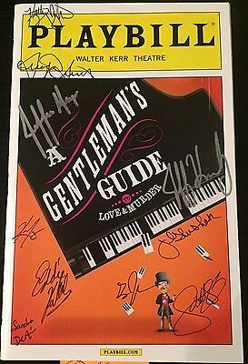 Gentleman's Guide to Love and Murder Signed Playbill April 2015 (#1)