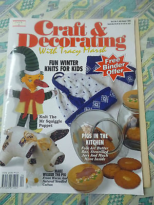 Craft And Decorating With Tracy Marsh- Vol9, No 3 1996