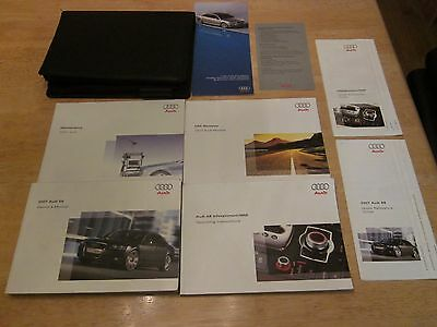 2007 Audi S8 Owner + Mmi Navigation Manual With Case Oem Owners