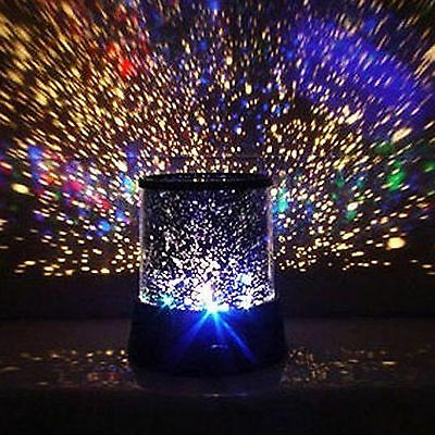 Color Twilight Star Cosmos Master Beauty Projector Night Light Lamp - Sleep Help