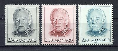 s12619) MONACO MNH**  1990, Definitives 3v