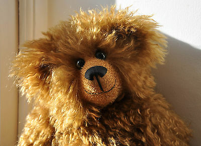 Brackenwood Bears Collectable Mohair Bear TREACLE