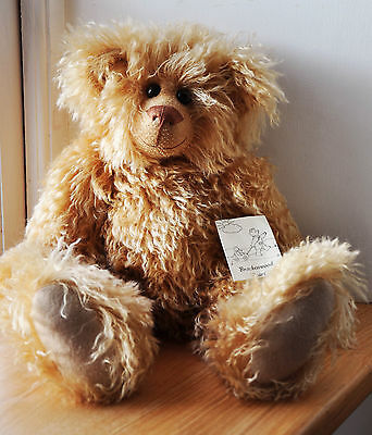 Brackenwood Bears Collectable Mohair Bear FUDGE