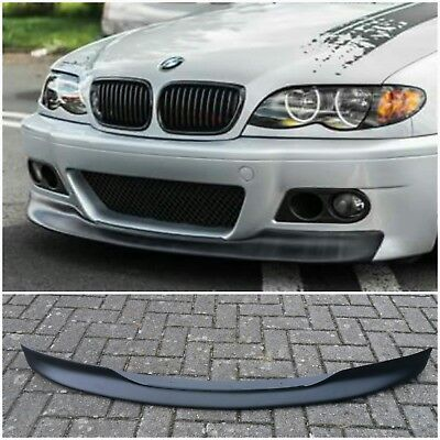 BMW E46 Coupe Cabrio M3 Look Spoiler lip Schwert Lippe ABS Kunststoff
