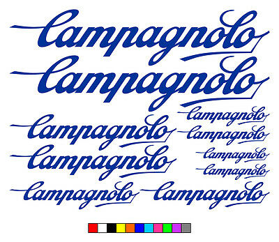 Campagnolo vinyl decals stickers frame replacement graphic set aufkleber adesivi