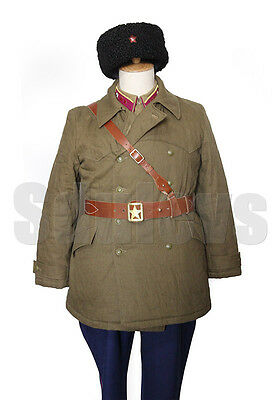 WWII Soviet Red Army M35 winter short coat