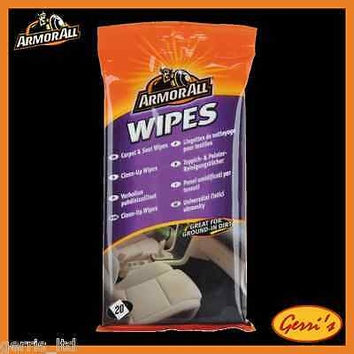 Armor All Carpet & Seat Wipes 20 Wipes 38020ML