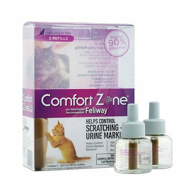 Farnam Comfort Zone with Feliway Refill 48 ml Double Pack [100512609] CXX