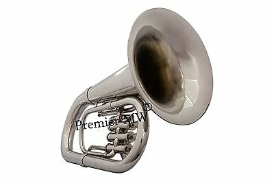 New year sale Premier MW PROFESSIONALSILVER NICKEL  Bb Euphonium + HC + MP