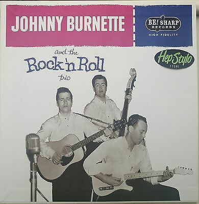 JOHNNY BURNETTE TRIO EP- FANTASTIC 50s ROCKABILLY GREAT COVER ALT TAKES