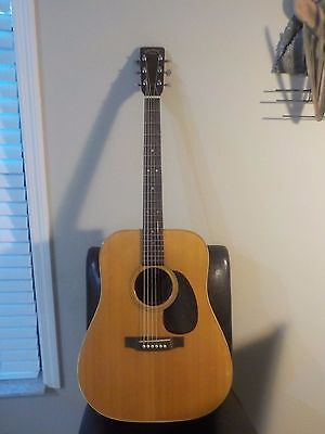 Vintage K. Yasuma Newance 300 Hand Made Acoustic Guitar