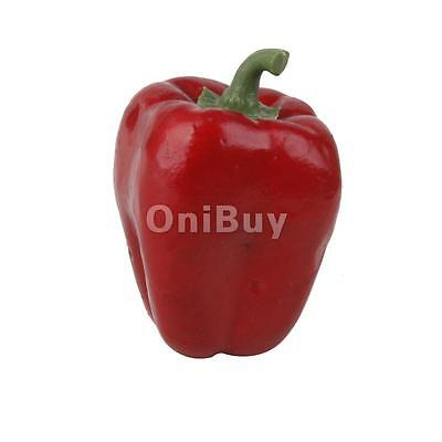 Faux artificielle légumes Faux Red Pepper Jardin Garden Party Props Decor