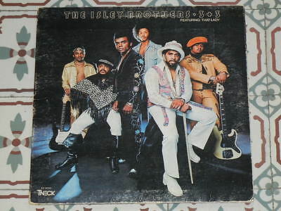 ISLEY BROTHERS - 3 + 3 USA LP 1973 (That Lady)