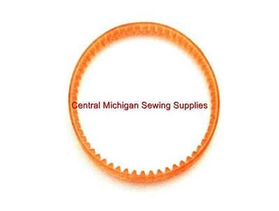 """MOTOR BELT 14 3//4"""" LUG TYPE #1434L  fits  SOME PORTABLE HOME SEWING MACHINES"""