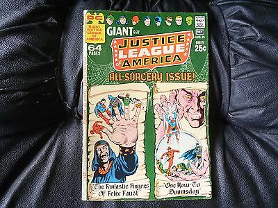 Justice League of America # 85 giant size 64 page issue fair condition