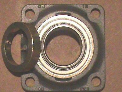 Ina Rcj80 - 4-Bolt Flange Bearing Housing Assembly - New Old Stock