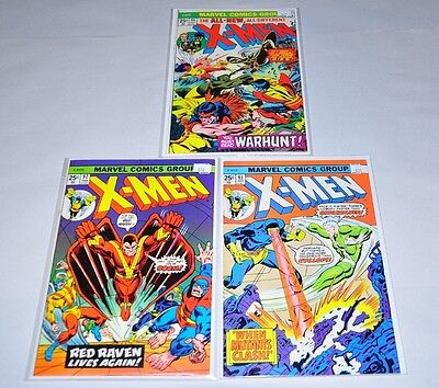 X-Men 92 93 95 Bronze Age Lot NICE