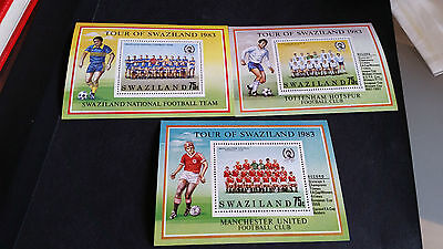 Malawi 1983 Sg Ms430 Tour Of Swaziland By English Football Clubs Mnh