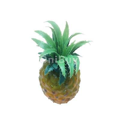 1x Lifelike artificielle plastique Ananas Faux Fruit Food Kitchen Home Decor