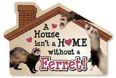 Ferret House Magnet